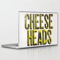 wisconsin Laptop & iPad Skins featuring Notorious Wisconsin by Abby Hoffman