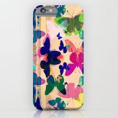 Butterflies on board Slim Case iPhone 6s