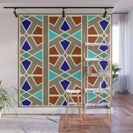 Islamic Moroccan Andalousie geometric wallpaper Wall Mural