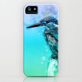 The colorful life of a King Fisher iPhone Case