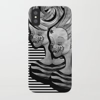 anxiety iPhone & iPod Cases featuring anxiety by Ela Caglar