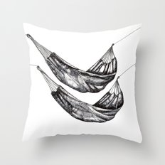 Check out my Hammocks! Throw Pillow