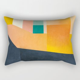passing by Rectangular Pillow
