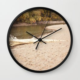 Rouge River on October 10th, 2020. LVIII Wall Clock