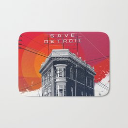 Save Detroit Bath Mat