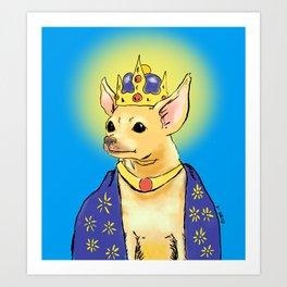 The Queen Art Print