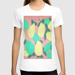 Lemony Fresh Citrus Pattern T-shirt