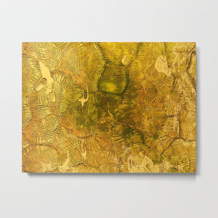Golden Decor Home Honey Envy Metal Print