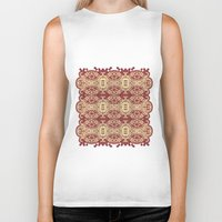 lace Biker Tanks featuring lace by Isabella Asratyan
