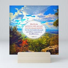 Shout for Joy! Mini Art Print