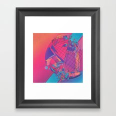 B-TWARKED (everyday 03.12.16) Framed Art Print