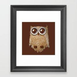 Owlmond 2 Framed Art Print