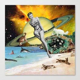 Cat Island Canvas Print