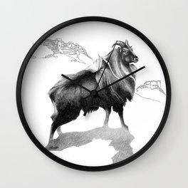 Tahr / Thar Wall Clock