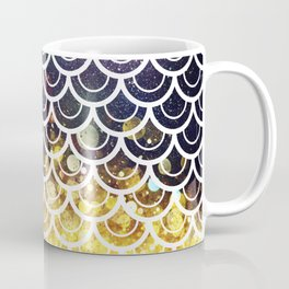 Mermaid Scales Deep Sea Sparkle Coffee Mug