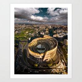 When in Rome.. Art Print