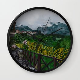 Mt. Olympus Wall Clock