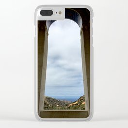 Window to the Sea - Catalina Island Clear iPhone Case