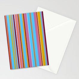 Stripes-011 Stationery Cards