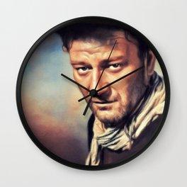 John Wayne, Hollywood Legend Wall Clock