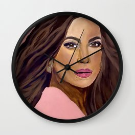Jenny From The Block Wall Clock