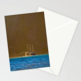 Milford Mariner at the Mouth of Tasman Sea - Milford Sound, New Zealand Stationery Cards
