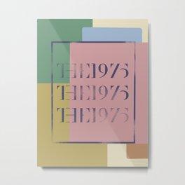 The1975 Poster Metal Print