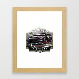Street car - by SH Design Framed Art Print