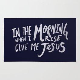 Give me Jesus x Navy Rug