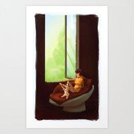 Cate Art Print