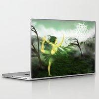 chakra Laptop & iPad Skins featuring Anhata Chakra by Citlalli Ayala