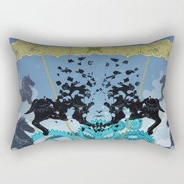 Collapse Rectangular Pillow
