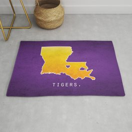Louisiana State Tigers Rug