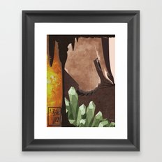 Original Bending Masters Series: Badgermoles Framed Art Print
