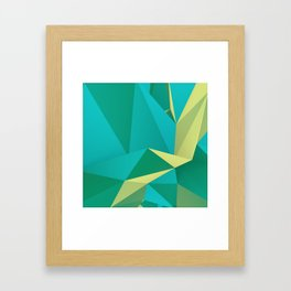 Frozen Avocado Framed Art Print