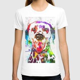 Dalmatian Grunge T-shirt