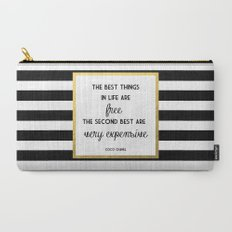 Coco Gold Very Expensive quote Carry-All Pouch