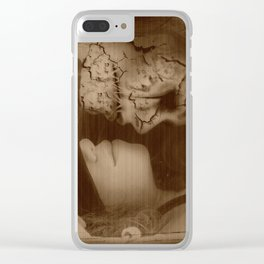 Give In To Temptation Clear iPhone Case