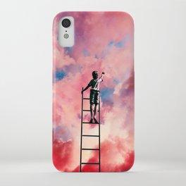 Cloud Painter iPhone Case
