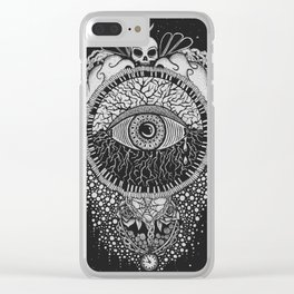 INSOMNOLENCE Clear iPhone Case