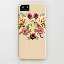 Song Bird 3 iPhone Case