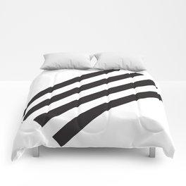Dark Stripes Comforters