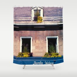 Signs: Jardin Nelson Shower Curtain