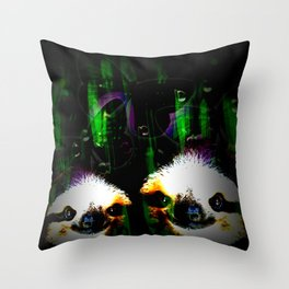 slowly dreaming Throw Pillow