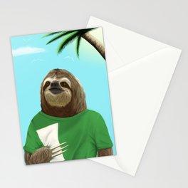 Felipe the Sloth Stationery Cards