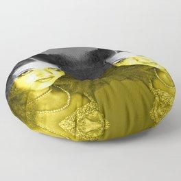 Illuminating Funky Gray LOLITA Floor Pillow
