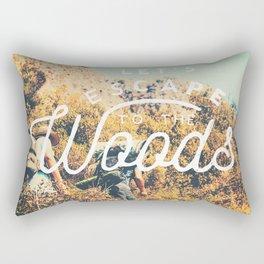 Let's Escape Rectangular Pillow