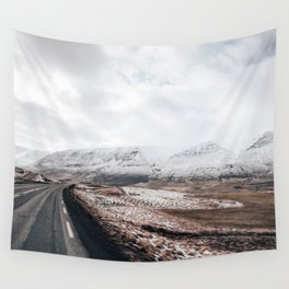 Icelandic valley Wall Tapestry