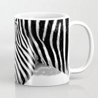 zebra Mugs featuring Zebra by Regan's World