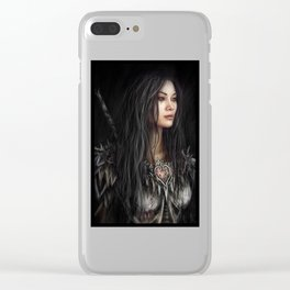 Armored Heart Clear iPhone Case